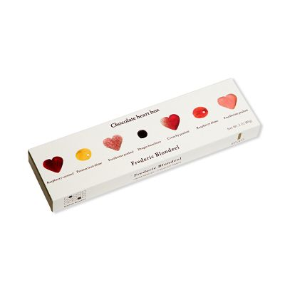 Assorted Hearts, Domes and Dragées - 13 Pc.Box